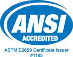 Rserving - An ANSI-Accredited Certificate Issuer - Accreditation Number 1185